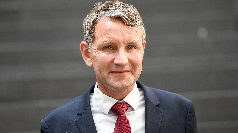 Björn Höcke, Partei- und Fraktionschef der AfD in Thüringen (Archivbild)