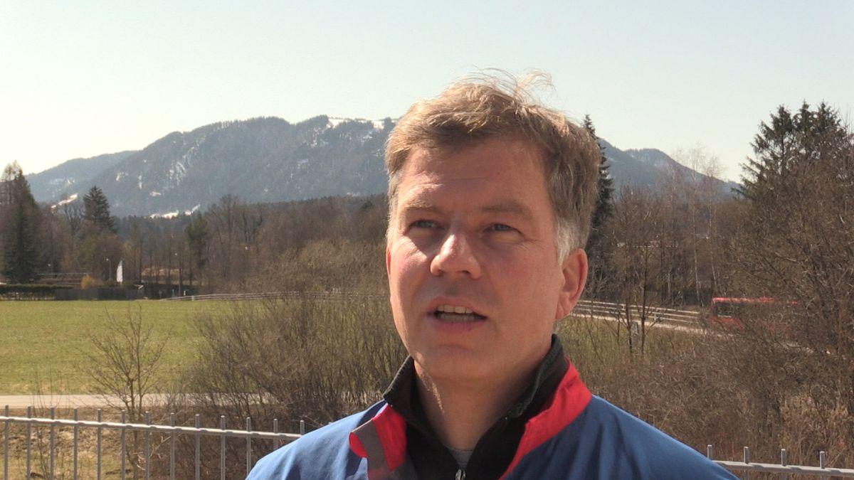 Roland Ampenberger, Sprecher der Bergwacht Bayern in Bad Tölz.