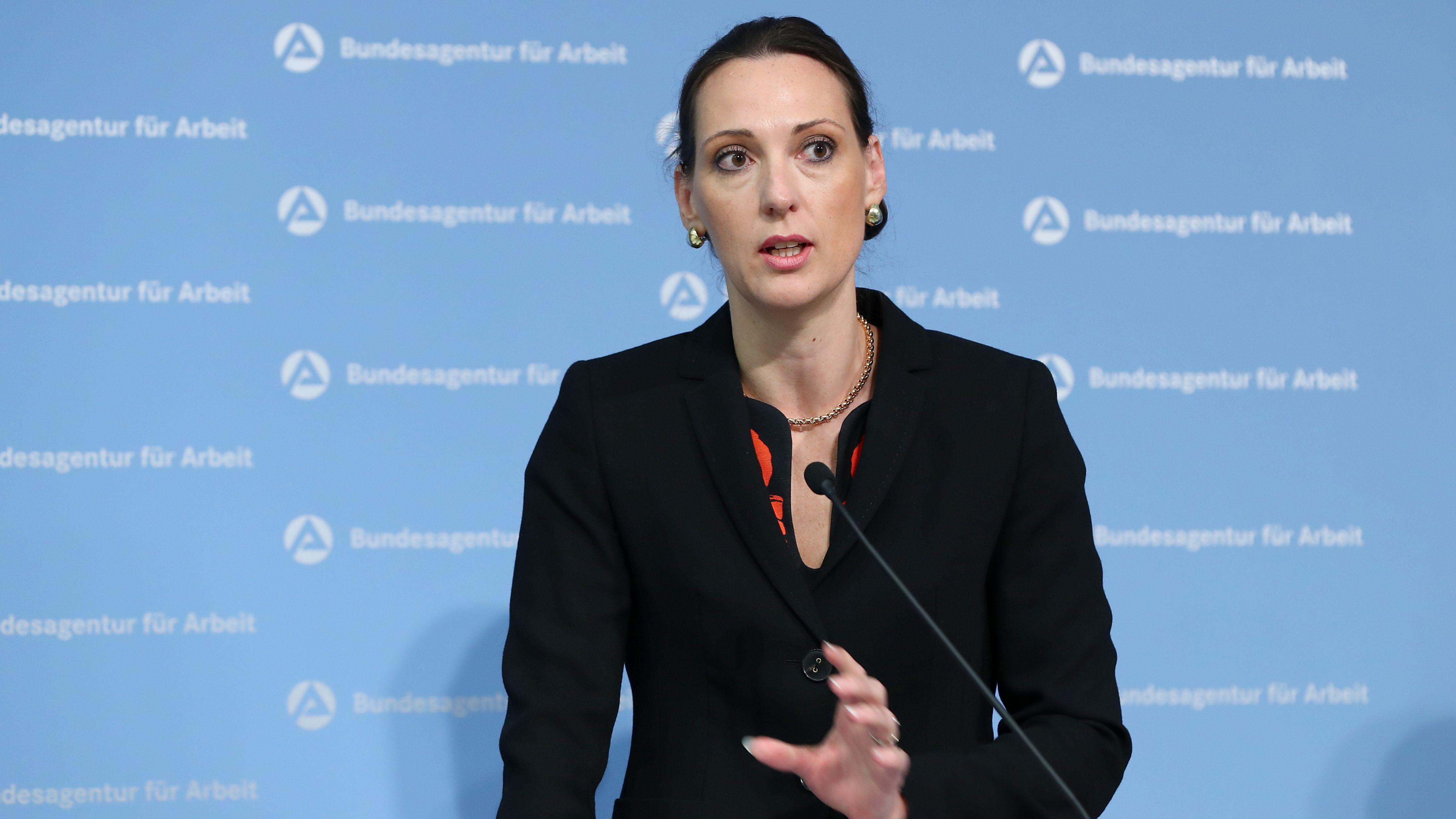 Valerie Holsboer, Vorstandsmitglied (Controlling, Finanzen und Personal) der Bundesagentur für Arbeit