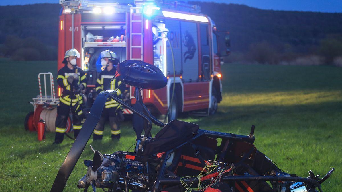 Flugplatz Sendelbach: Pilot bei Unfall mit Motorschirm-Trike gestorben
