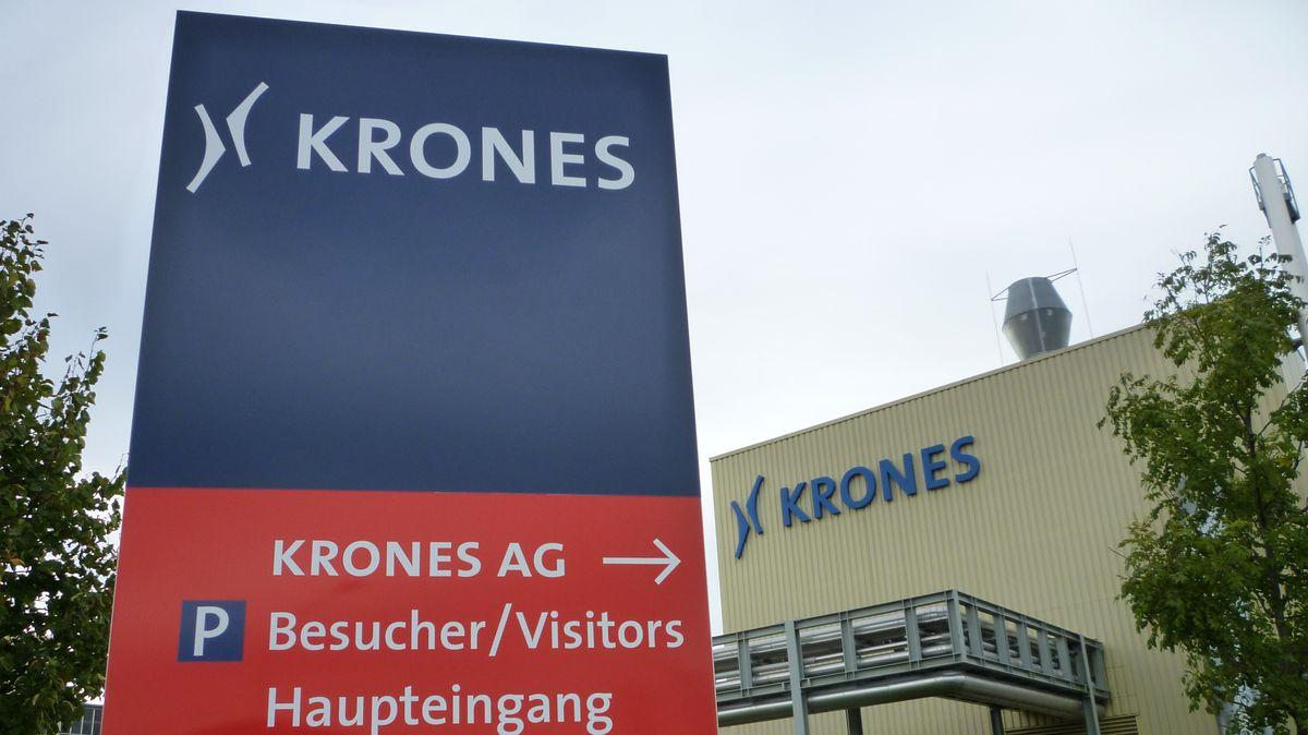 Firmenschild Krones AG