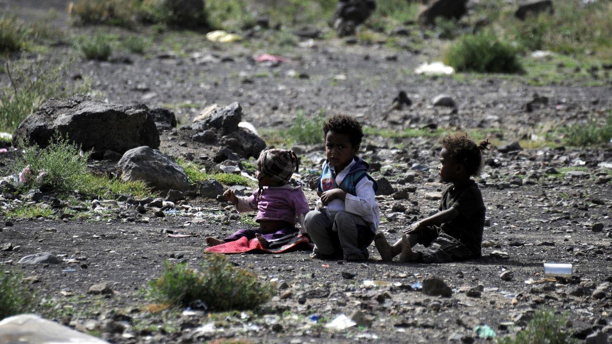 Flüchtlingslager im Jemen (Symbolbild)