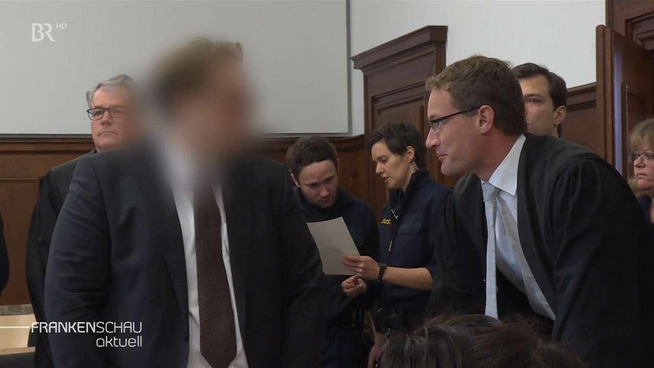 Prozess  gegen suspendierten Vize-Landrat von Erlangen-Höchstadt, Christian Pech, in Nürnberg