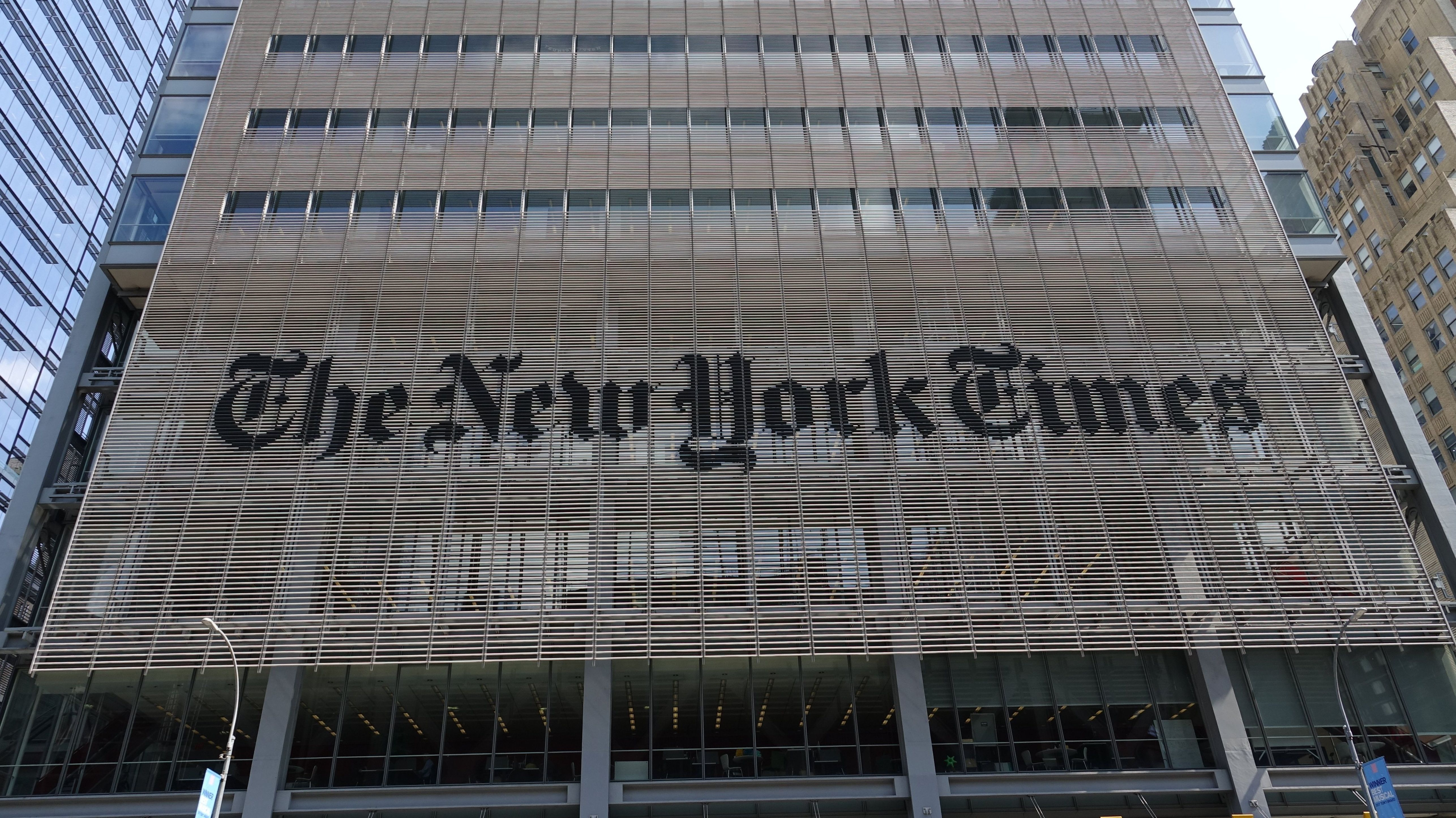 """Gebäude der """"New York Times"""""""
