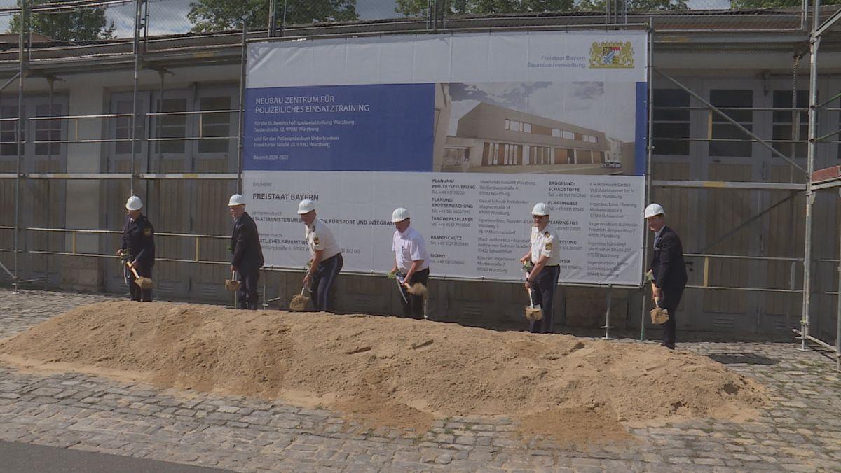Spatenstich für neues Aus- und Fortbildungszentrum der Polizei