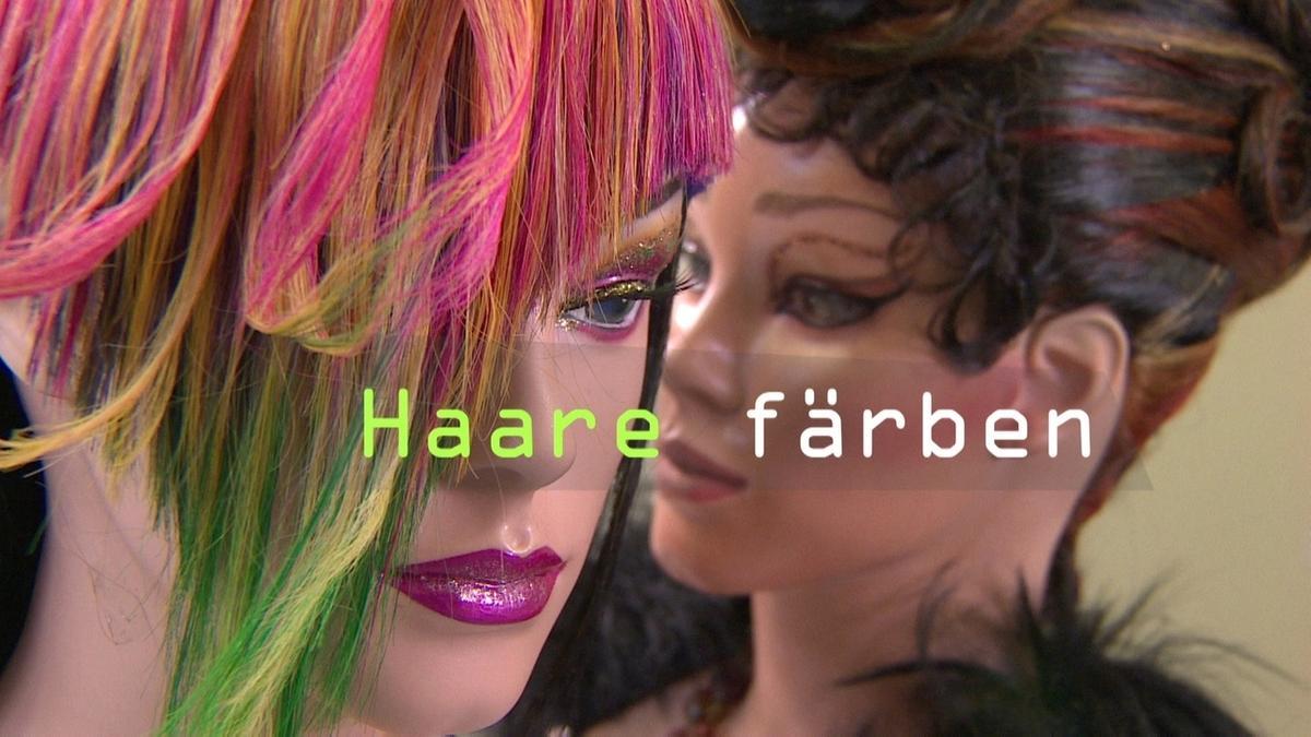 Chemie im Alltag: Haare färben   Chemie   alpha Lernen   BR.de