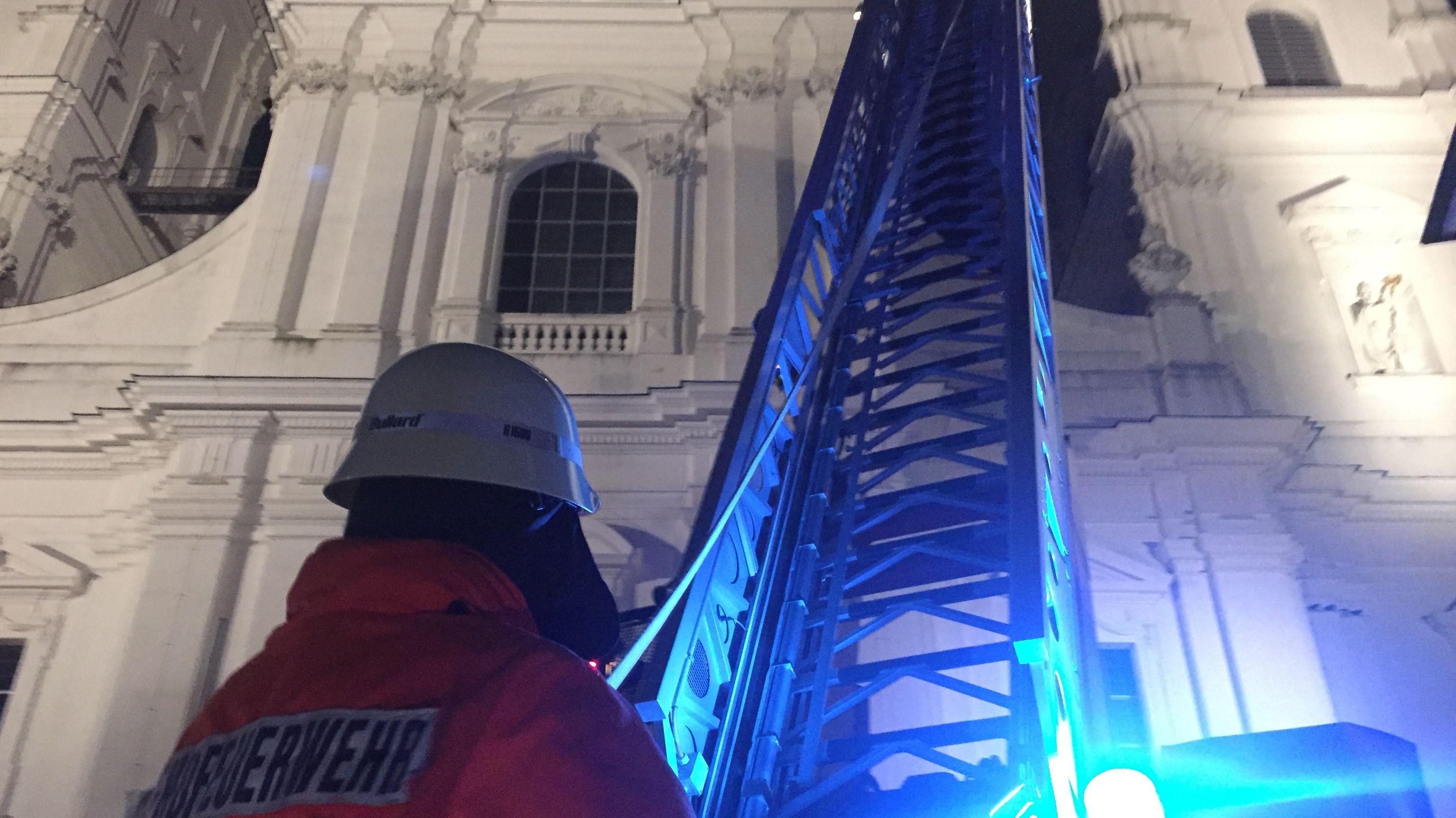 Feuerwehrübung im Passauer Dom