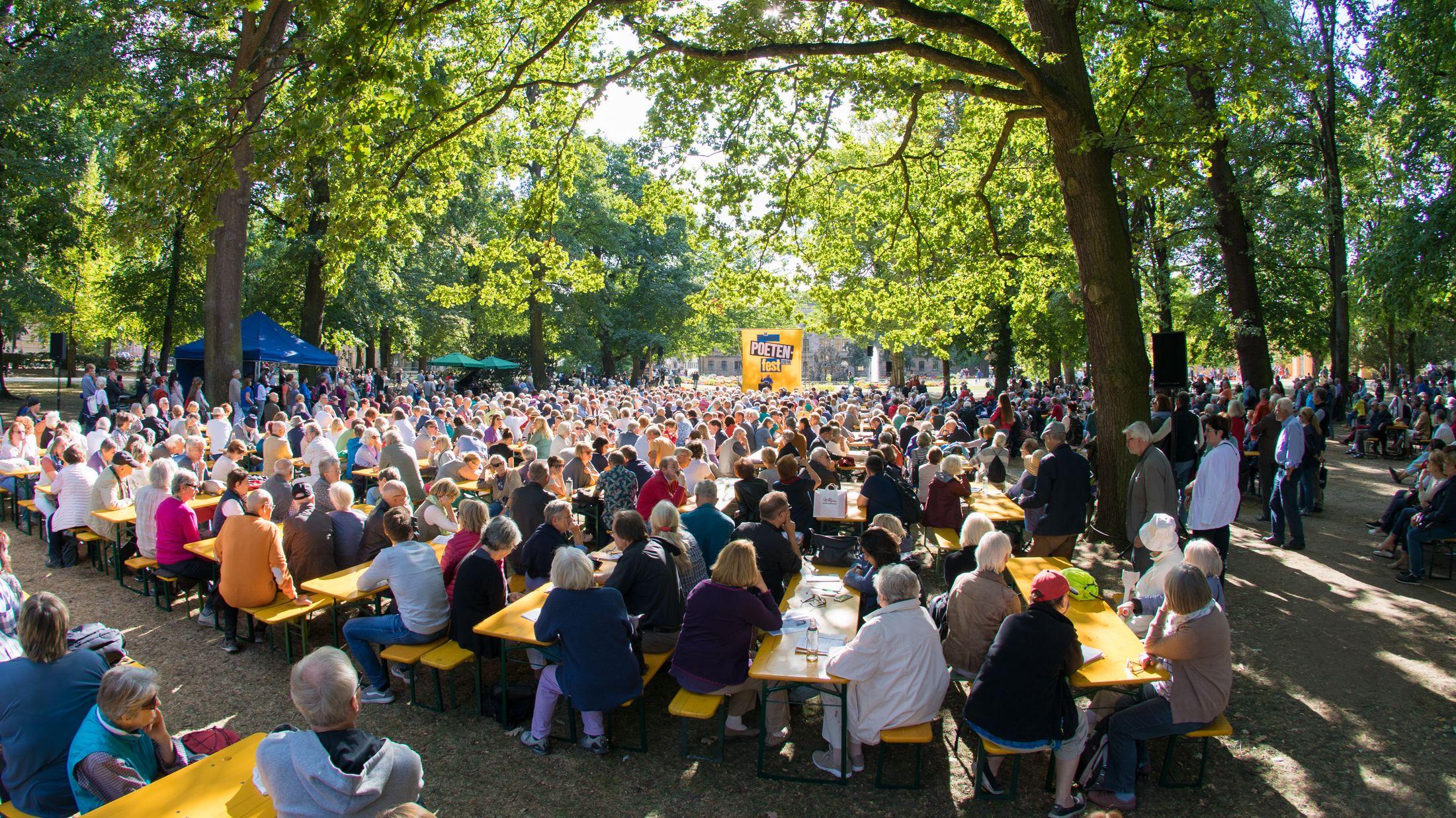 Das Poetenfest in Erlangen