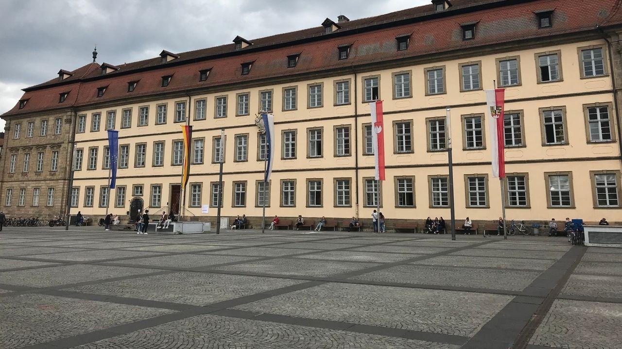 Das neue Rathaus in Bamberg