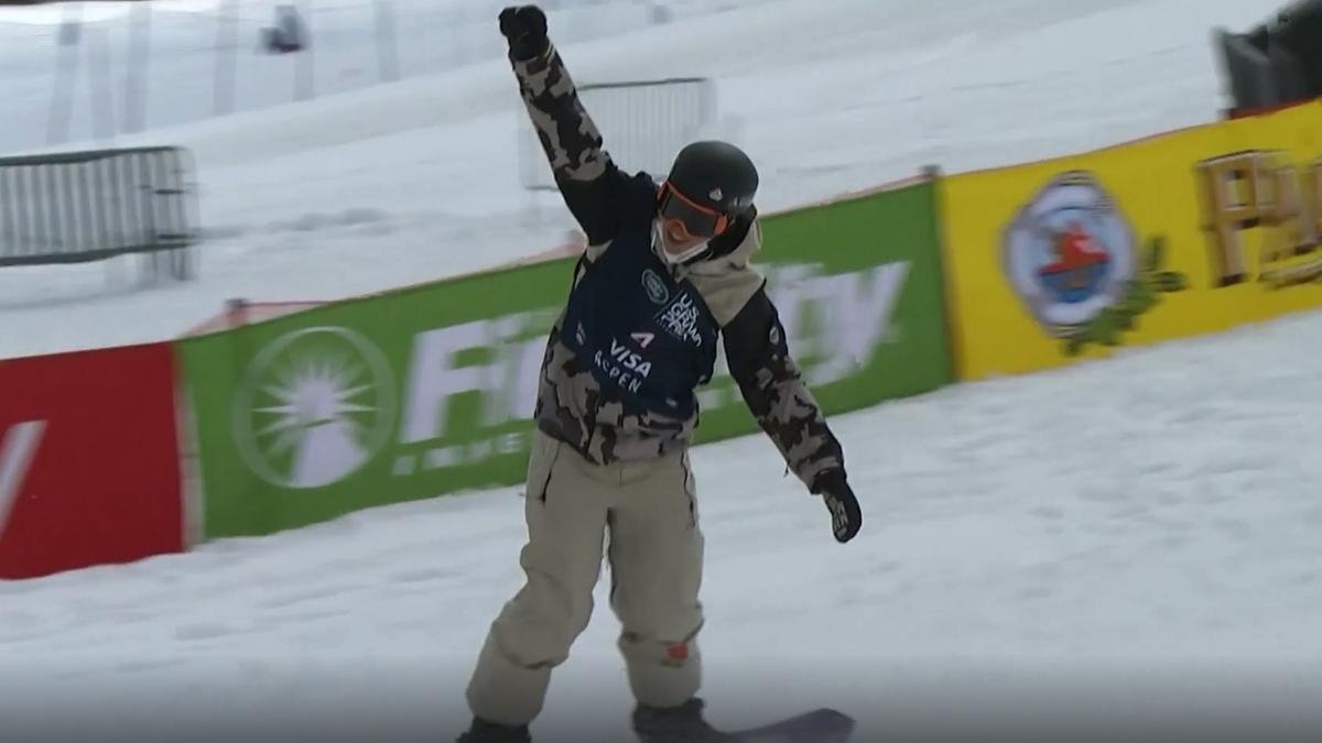 Snowboarder André Höflich