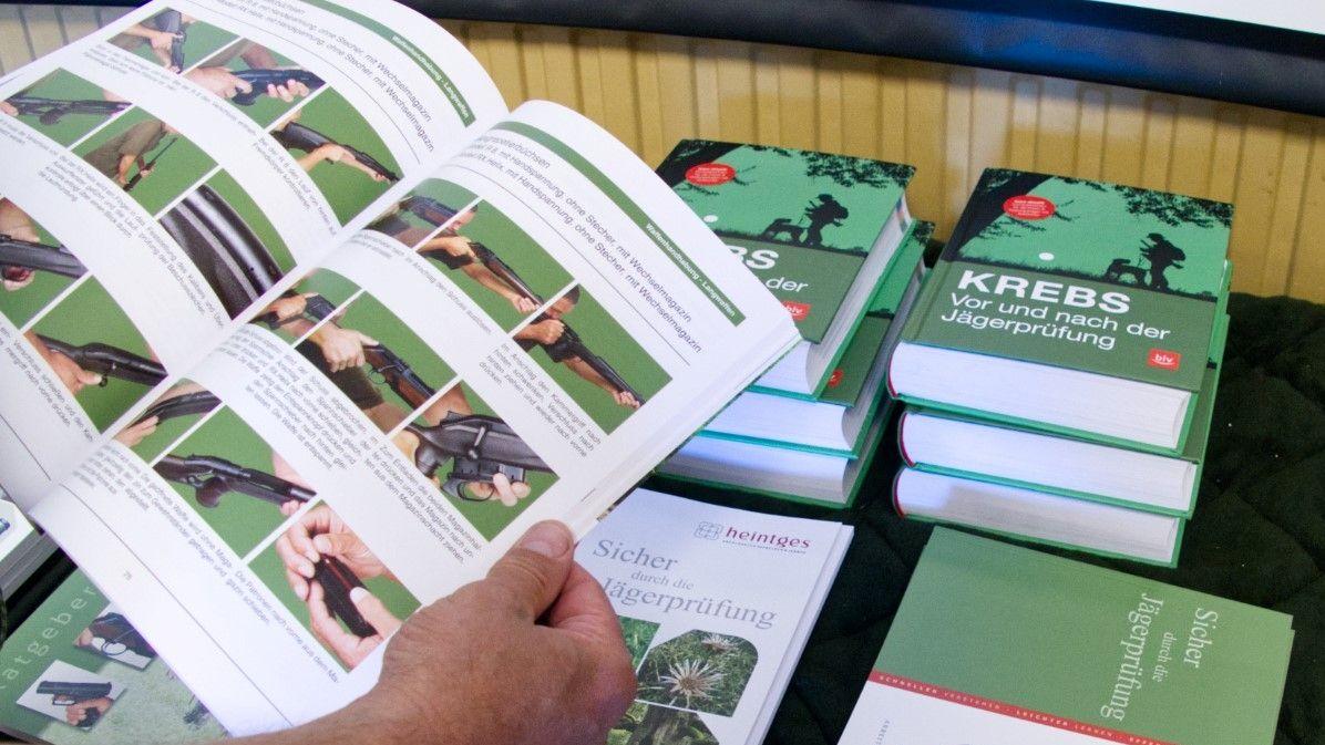 Lehrbücher für die Jägerprüfung