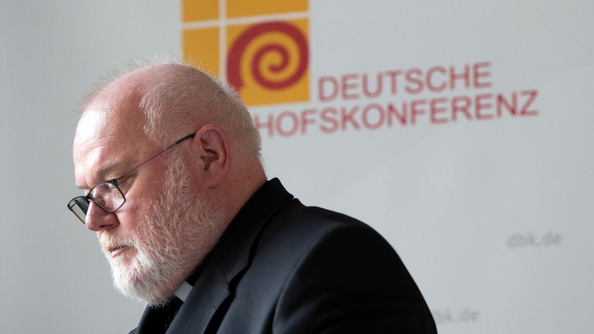 Kardinal Reinhard Marx, Erzbischof von München und Freising und noch Vorsitzender der Deutschen Bischofskonferenz.