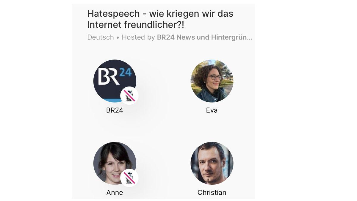 """Eva Lell, Anne Hemmes und Christian Schiffer diskutieren auf """"Dive"""""""