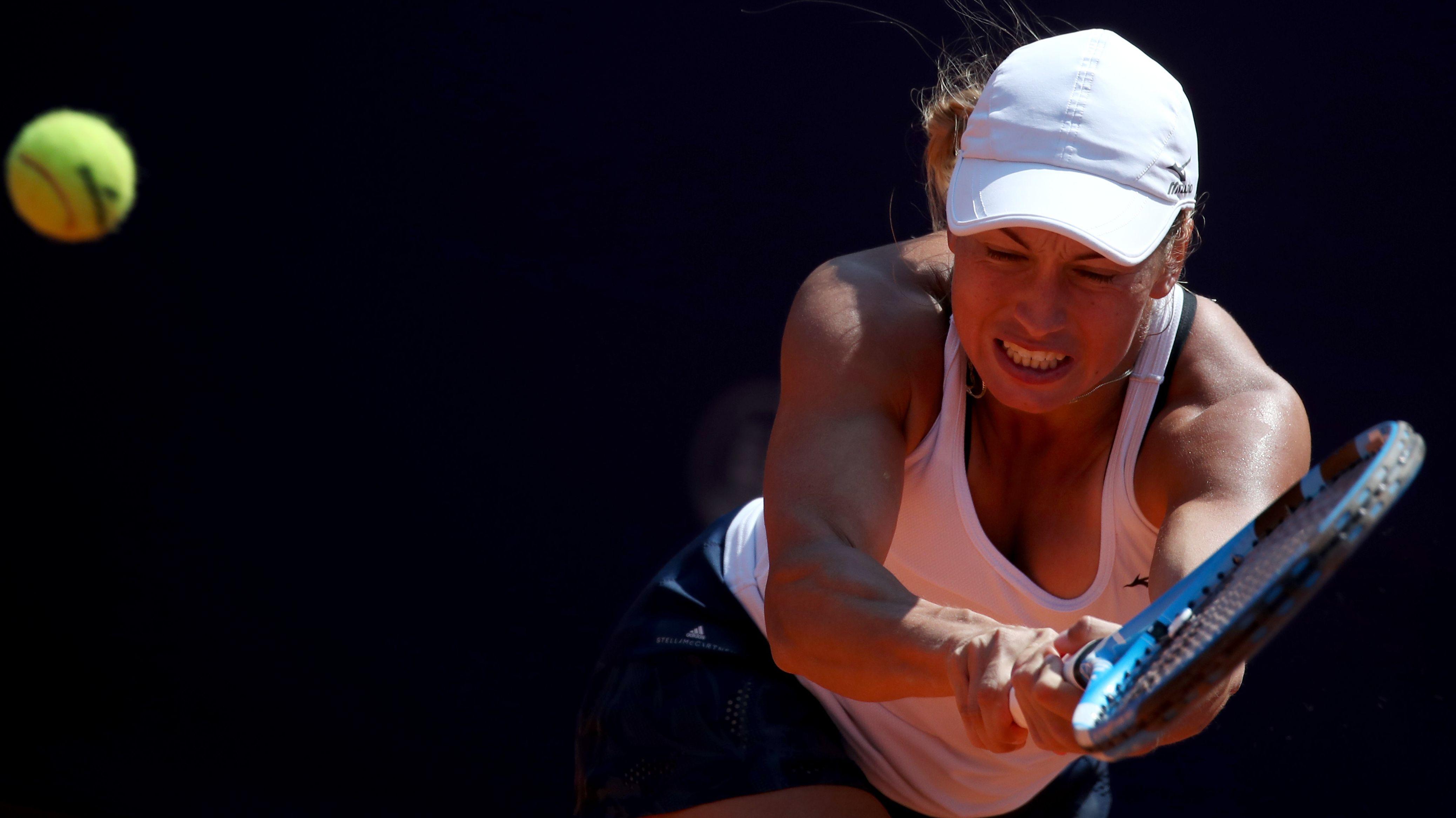 Tennis: WTA-Tour - Nürnberg, Einzel, Damen, Finale, Zidansek (Slowenien) - Putinzewa (Kasachstan)