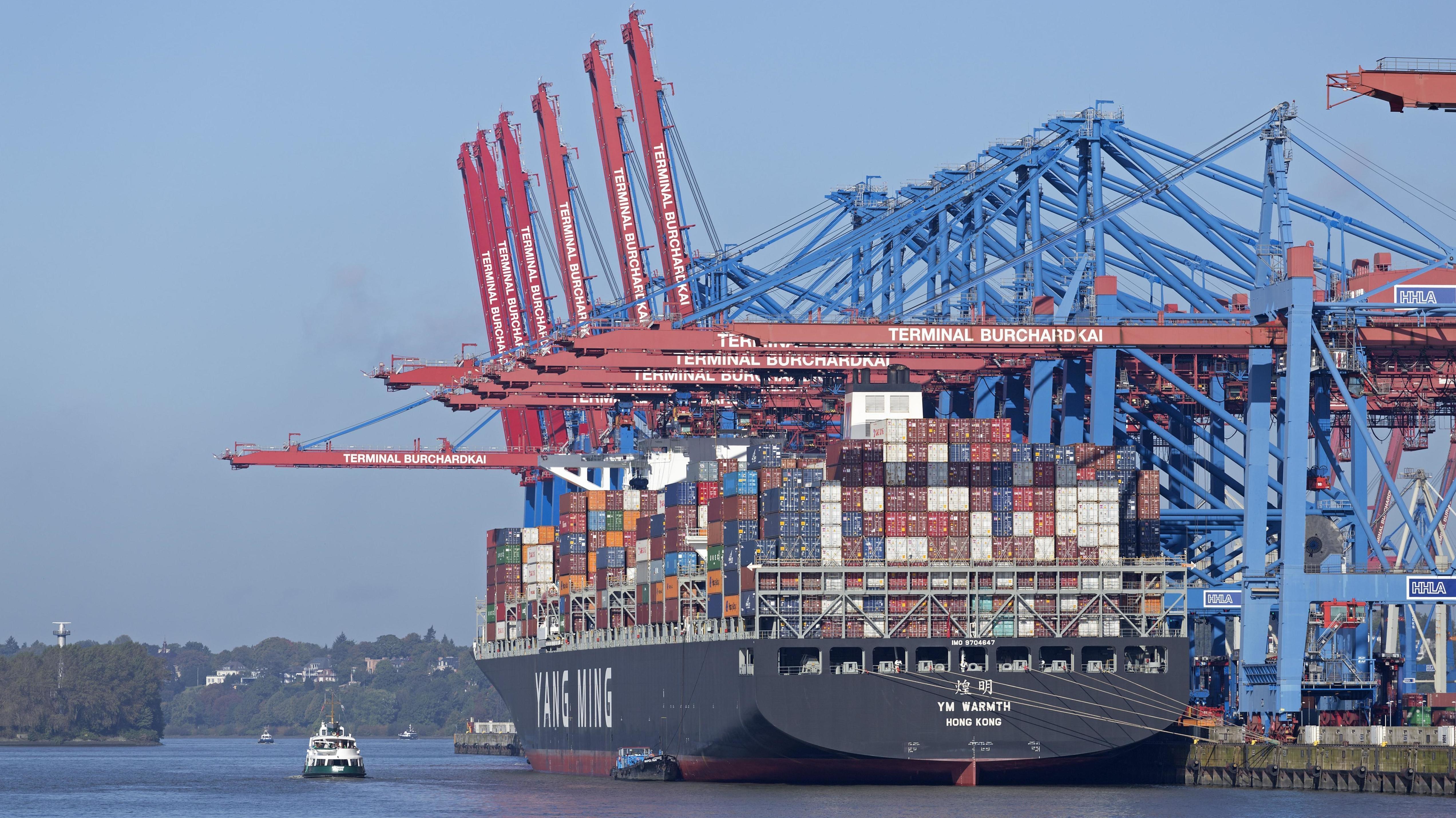 Containerschiff/Export