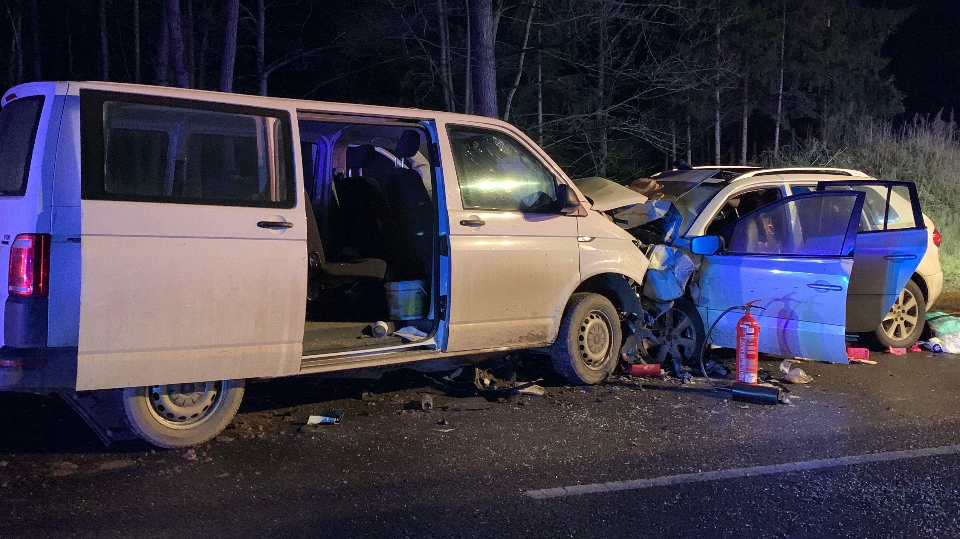 Tödlicher Unfall auf der B2