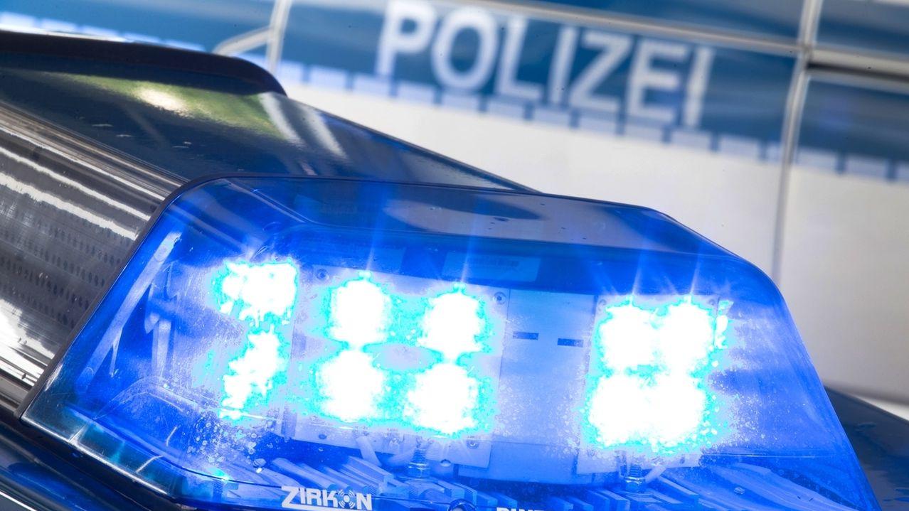 Symbolbild: Blaulicht Polizei