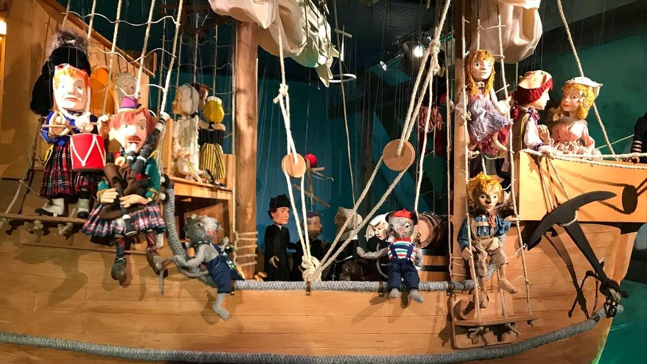 Augsburger Puppentheater: Ausstellung zu den Handelswegen der Fugger
