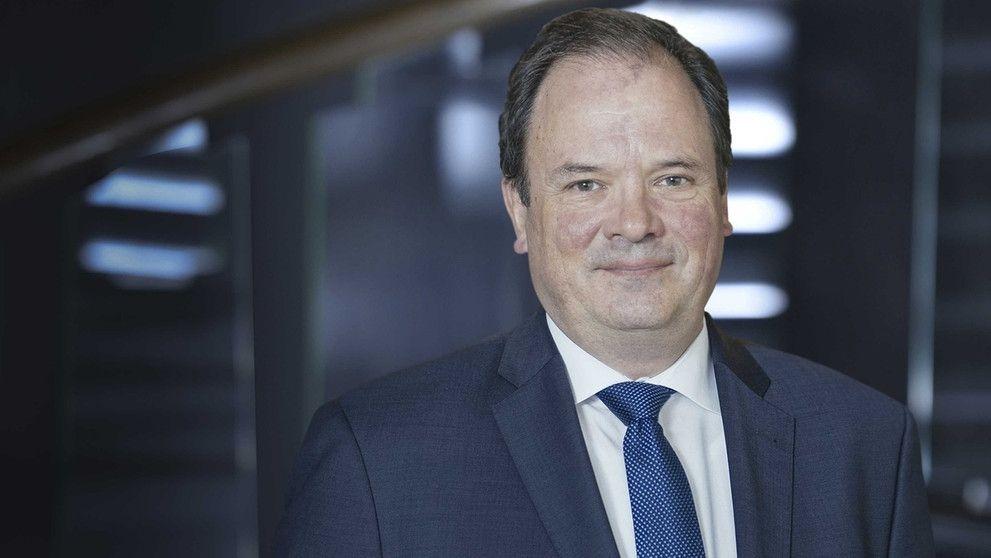 Dr. Albrecht Frenzel, Verwaltungsdirektor des Bayerischen Rundfunks