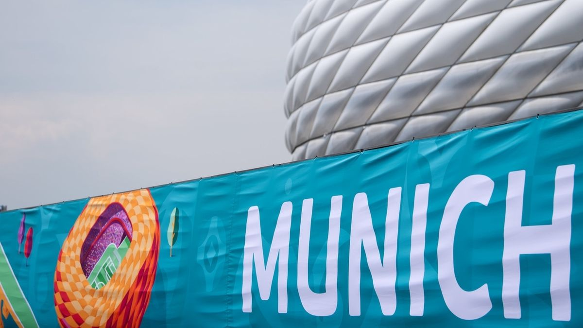 Fußball EM - Spielort München