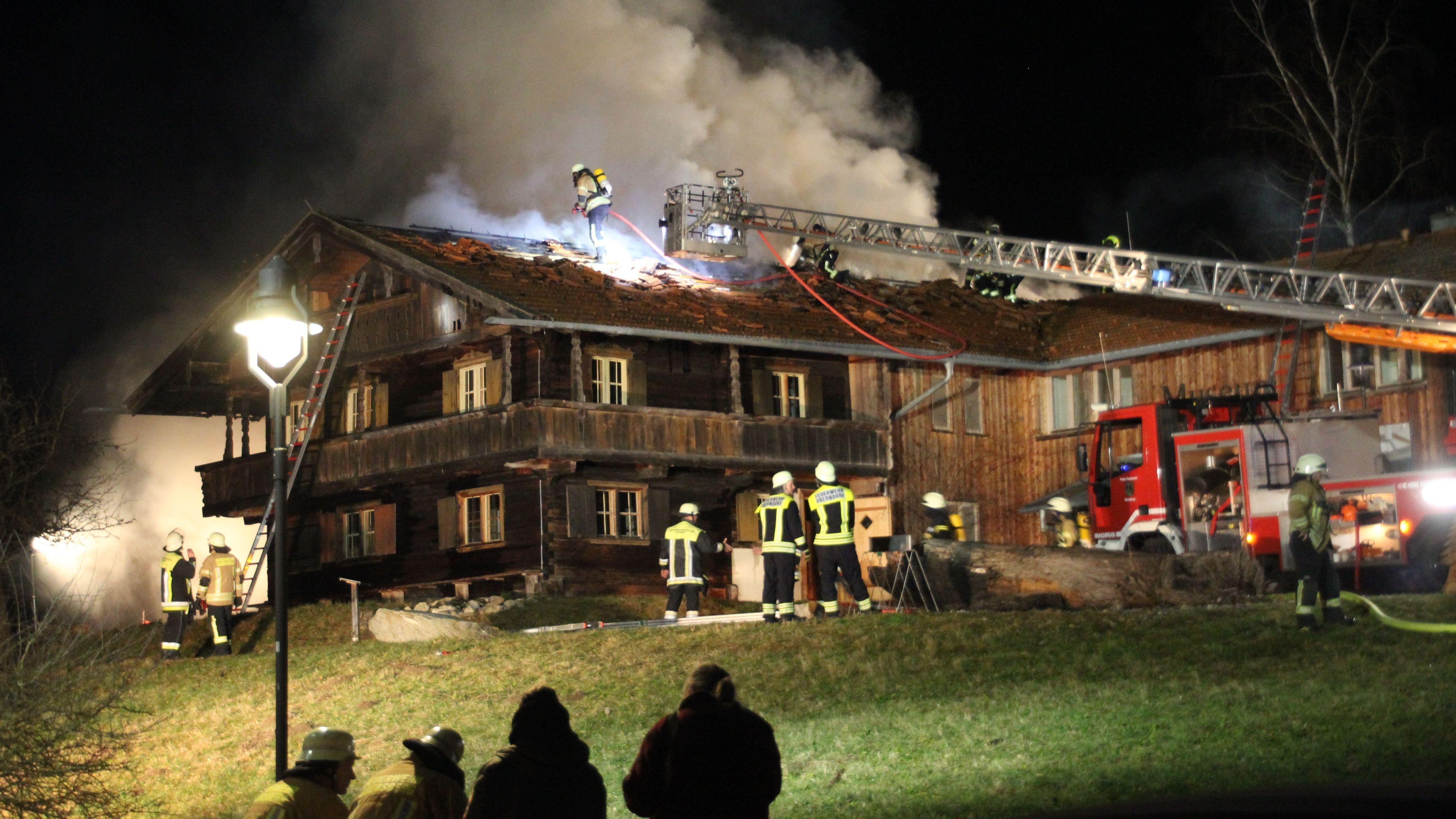 Brand im Waldmuseum Ebersberg