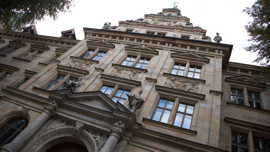 Das Justizgebäude in Bamberg