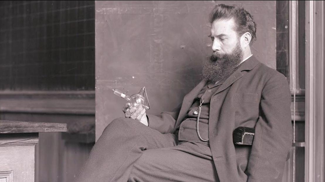 Fotografie von Wilhelm Conrad Röntgen