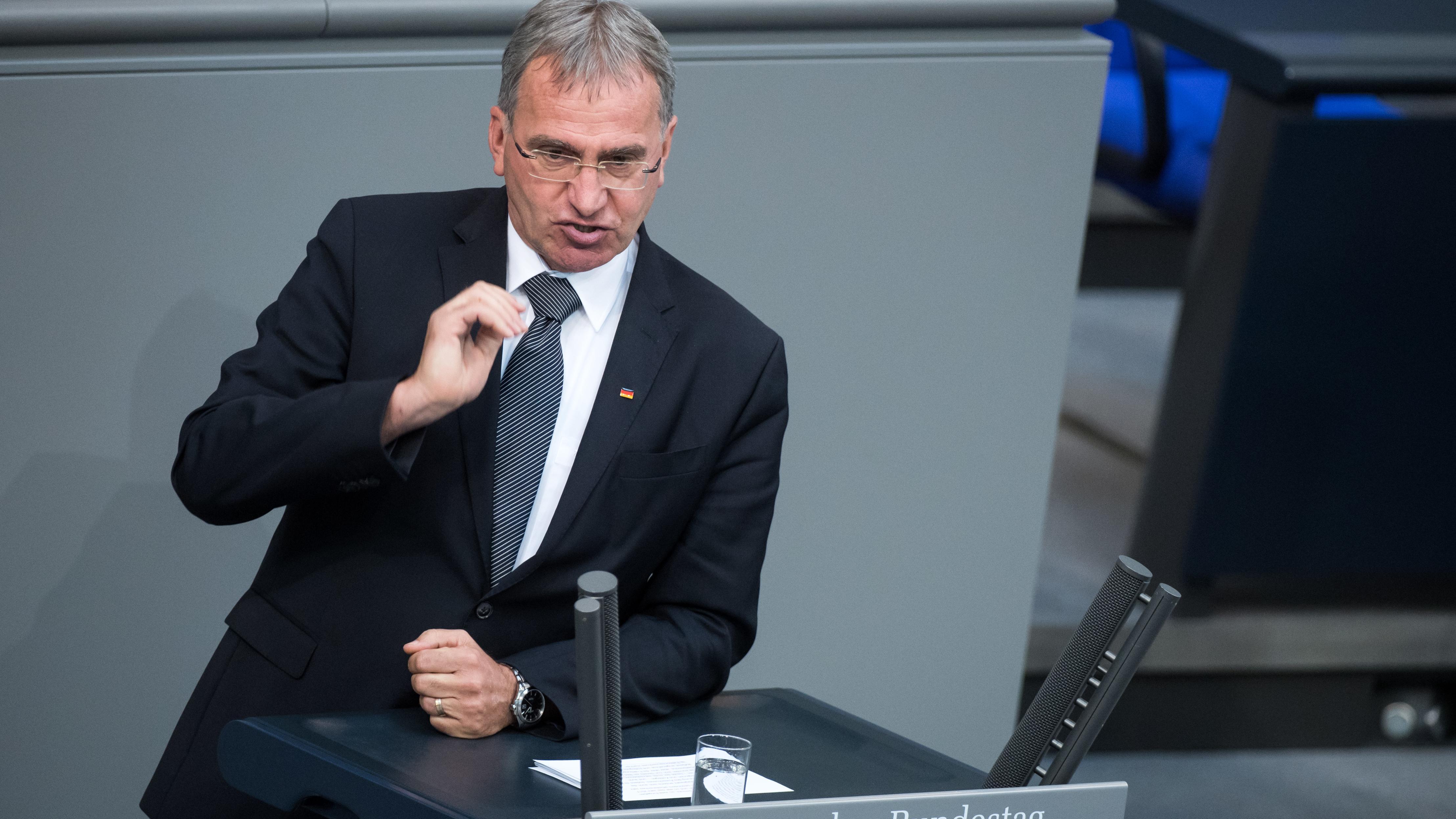 Paul Lehrieder (CSU) im Deutschen Bundestag
