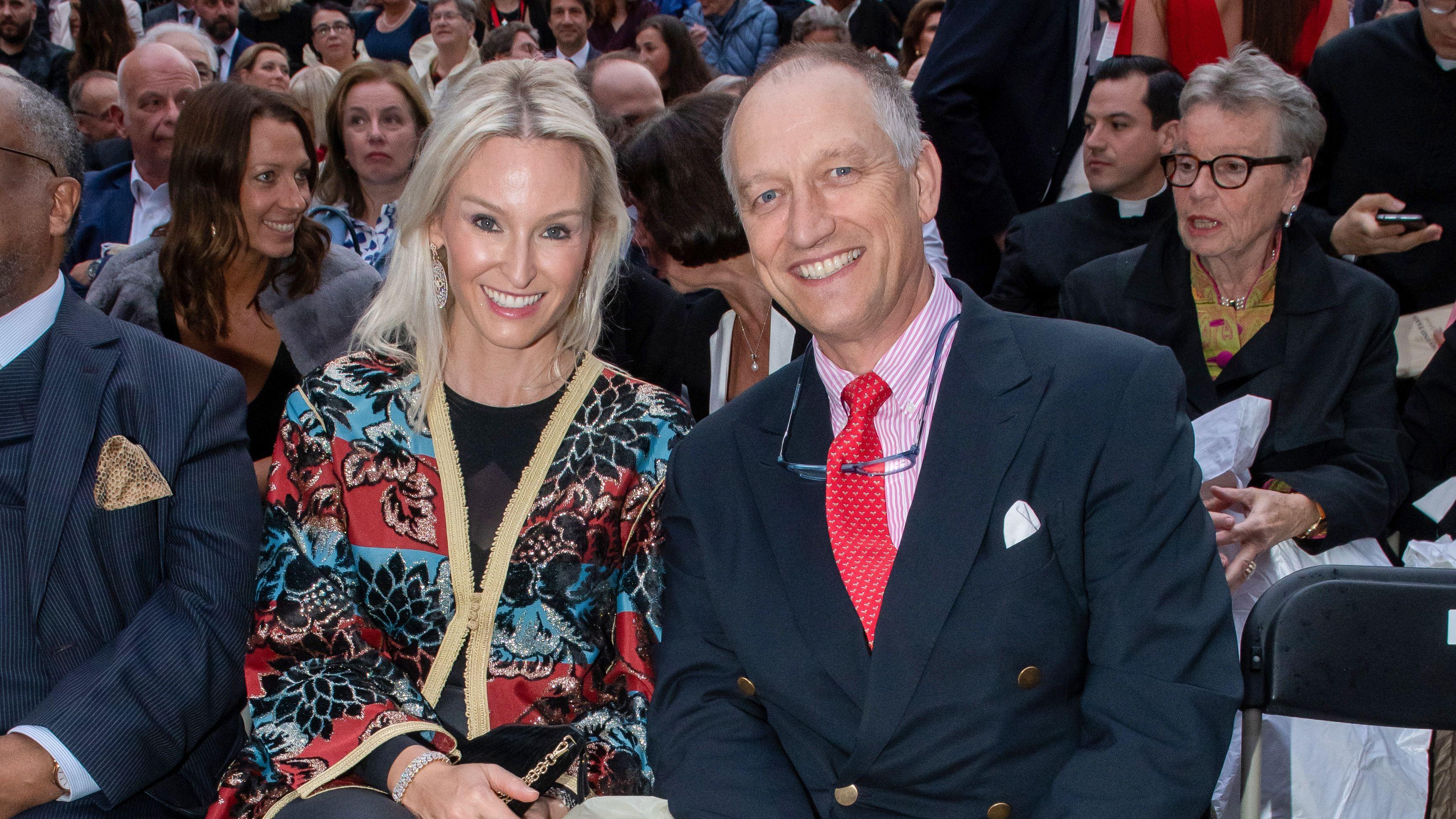 Unter den namhaften Gästen: Prinz Wolfgang und Prinzessin Tatiana von Bayern