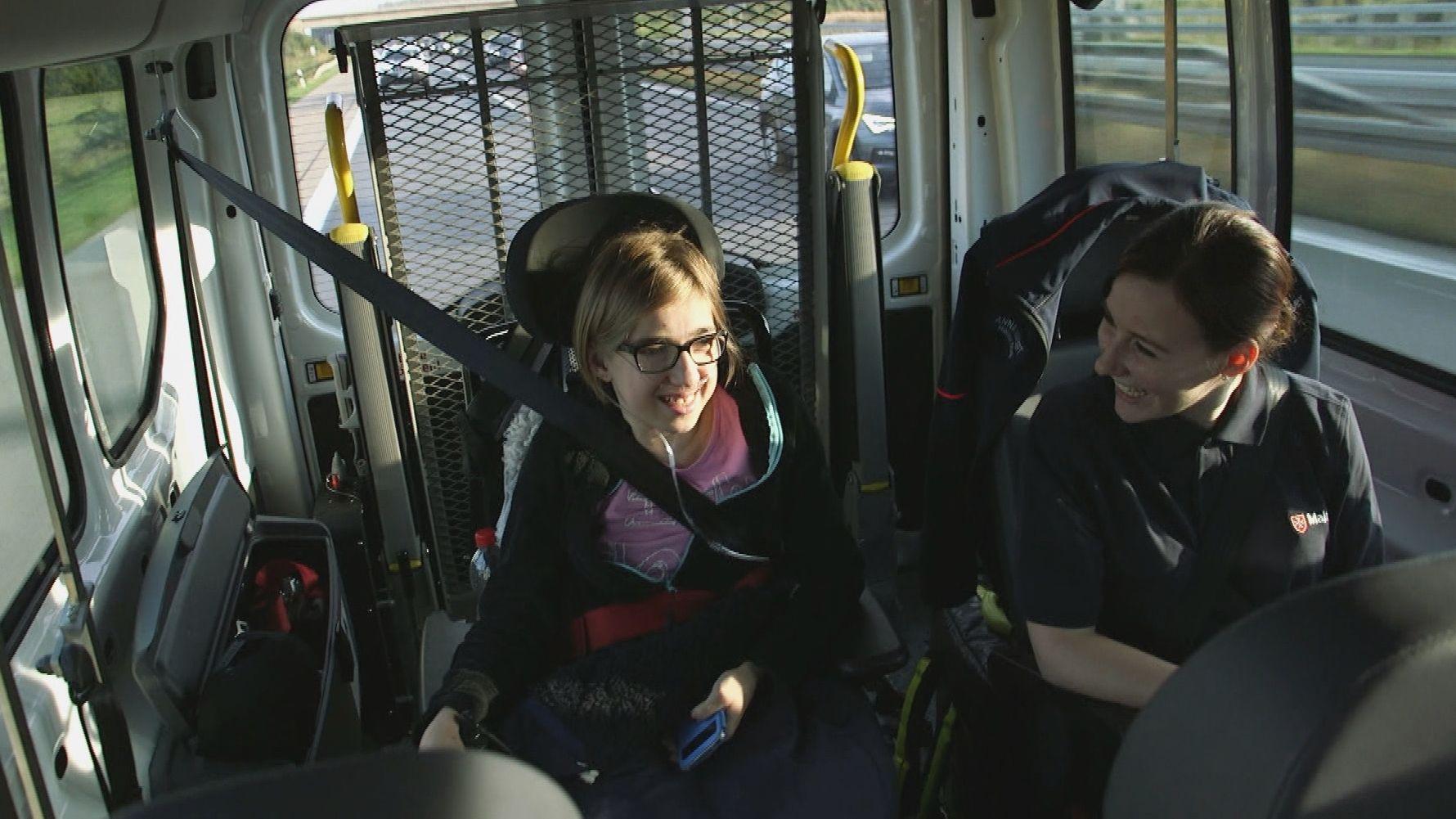 Herzenswunsch-Krankenwagen der Würzburger Malteser