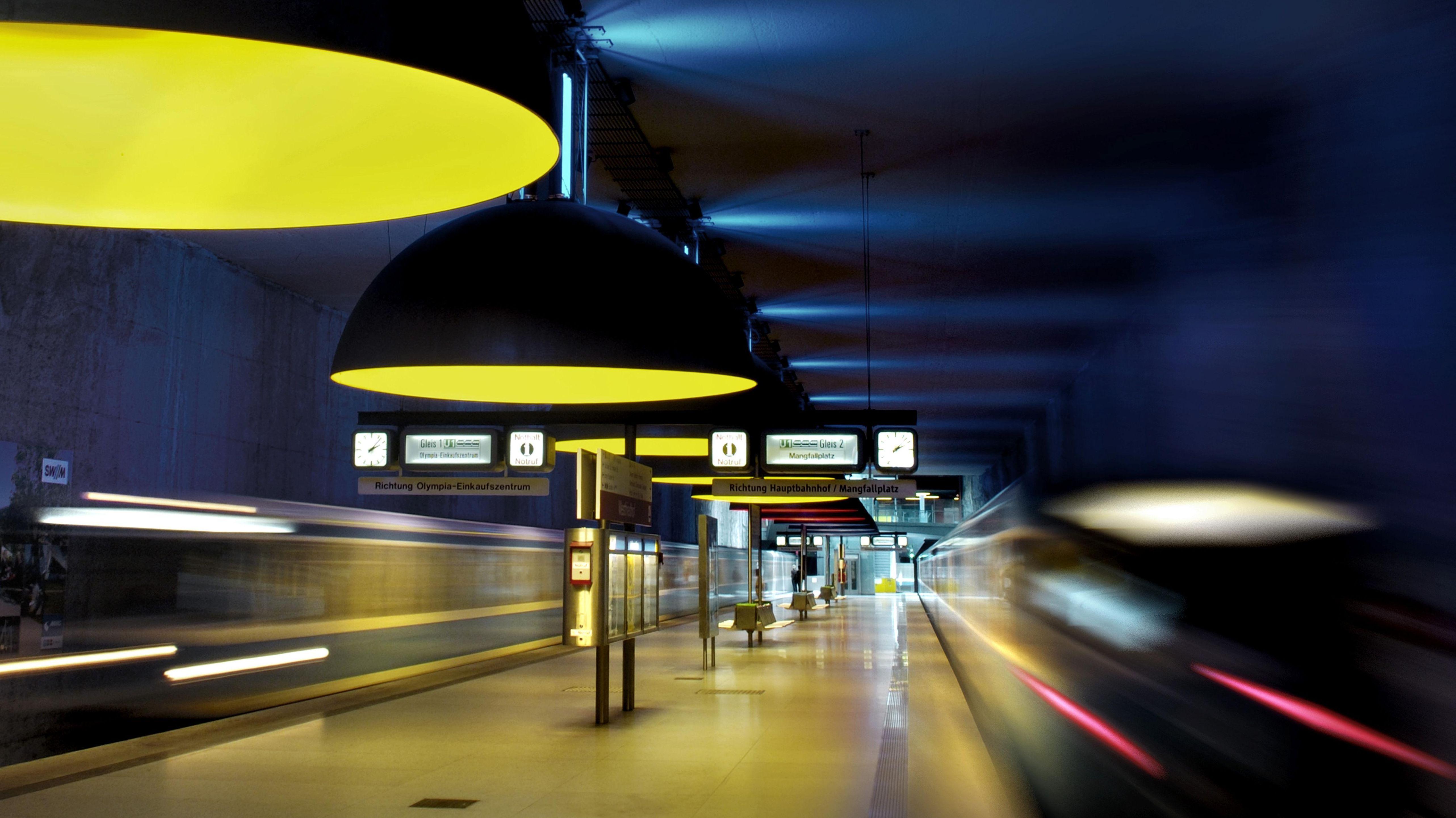 Der U-Bahnhof Westfriedhof in München (Symbolbild)