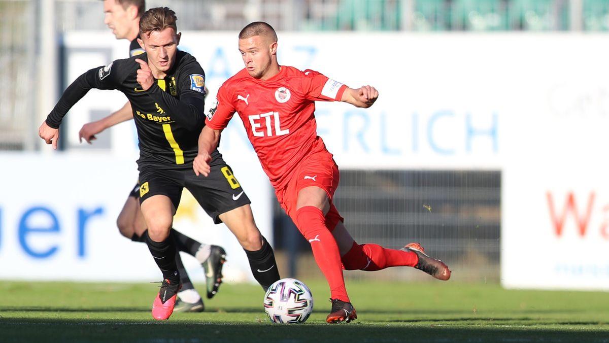Szene aus der Partie Viktoria Köln gegen TSV 1860 München
