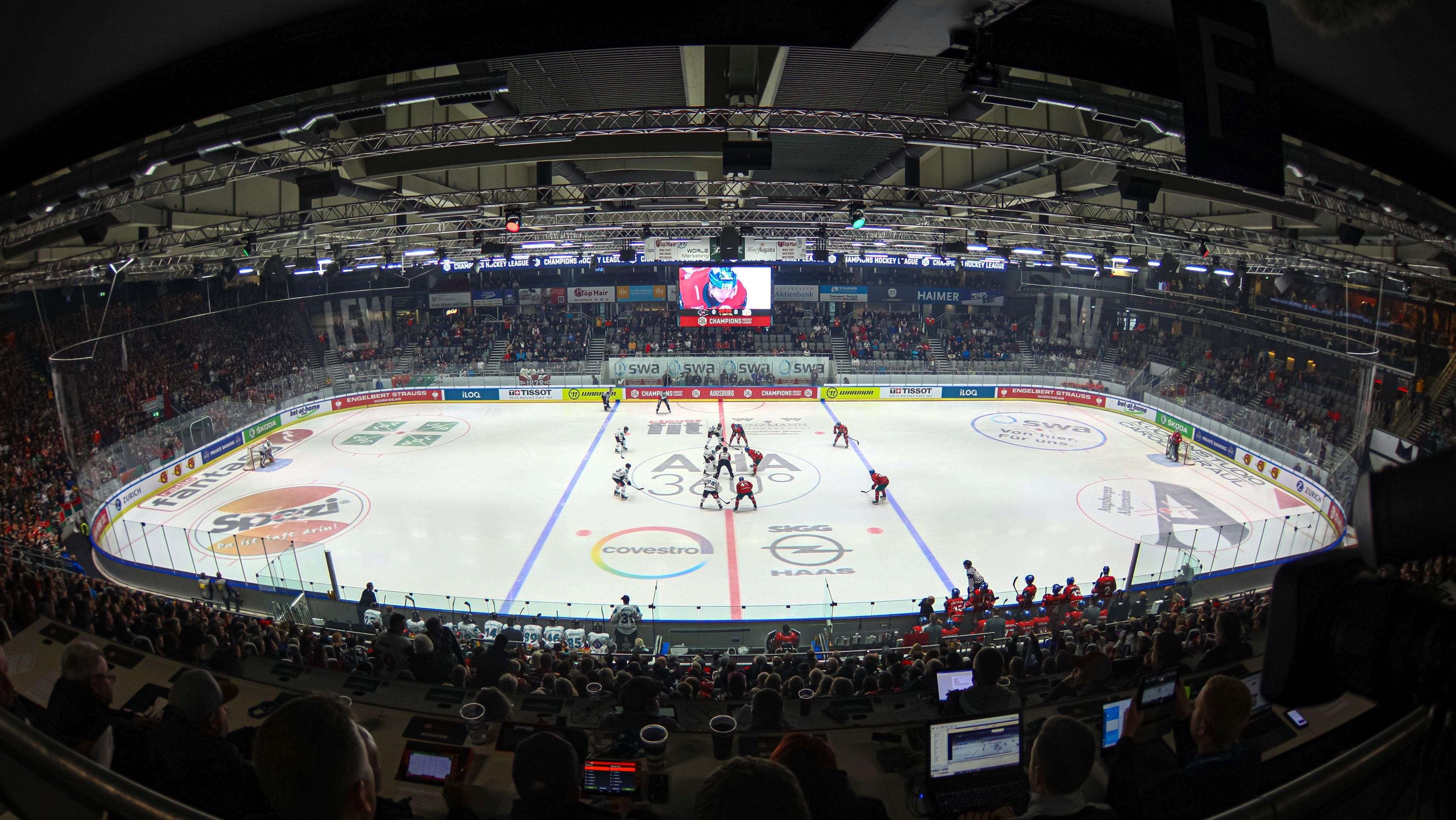 Stadion der Augsburger Panther