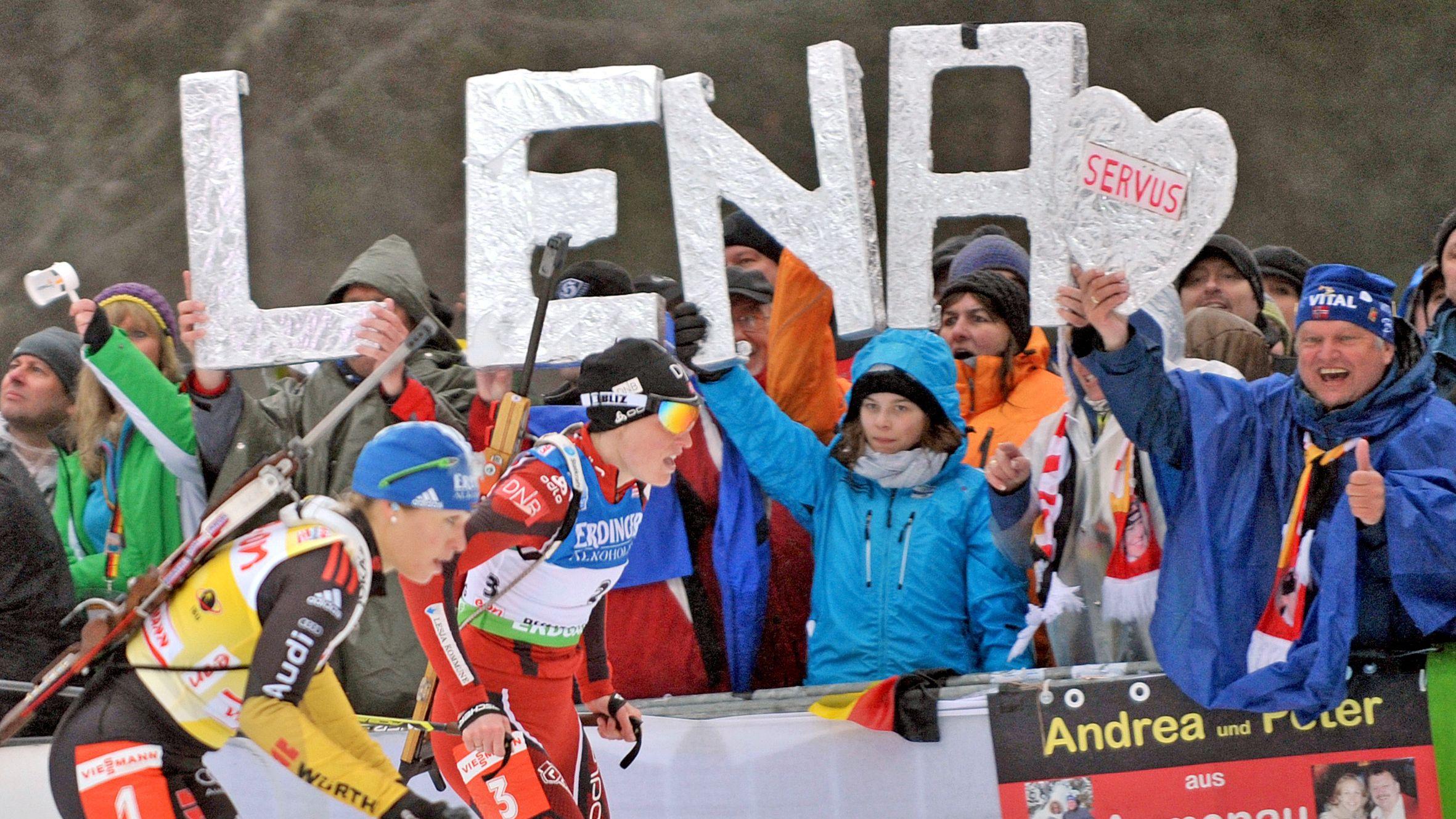 Die Biathlon-WM 2012 in Ruhpolding