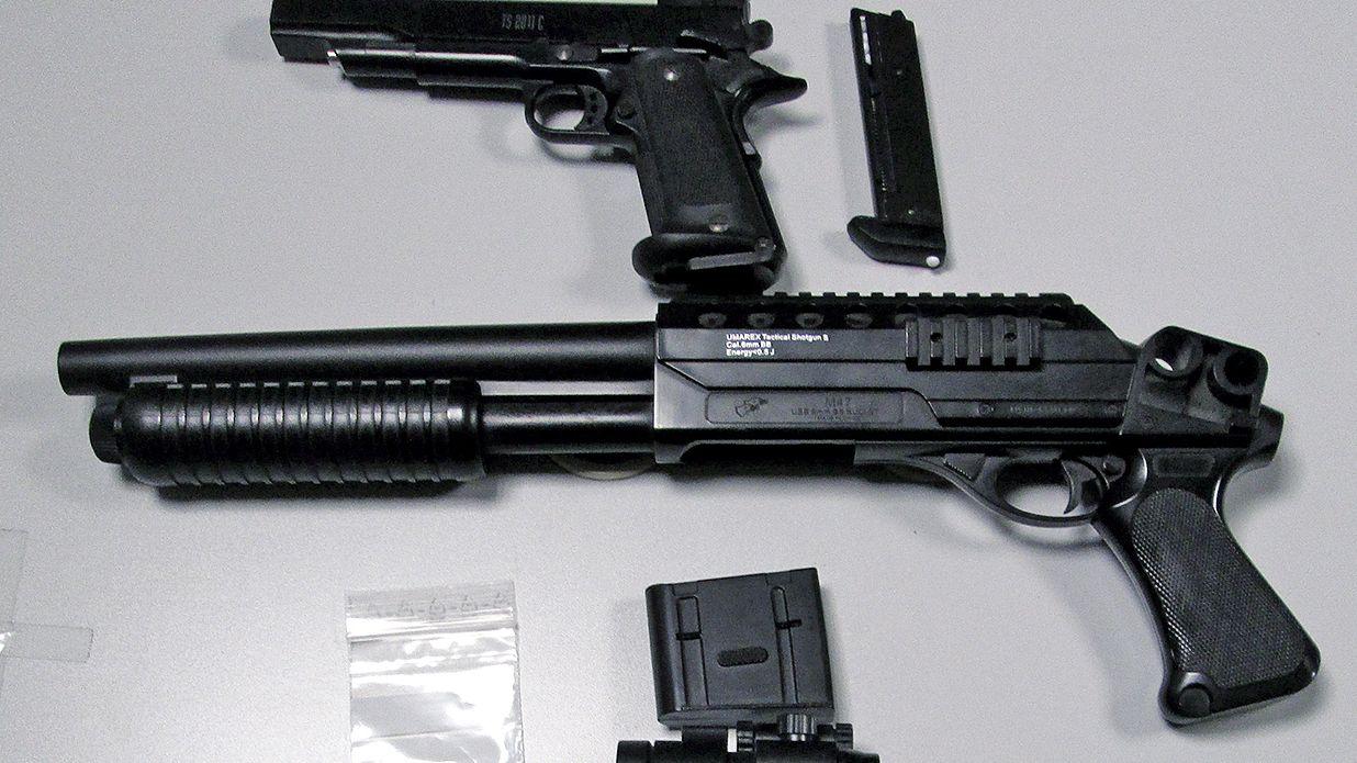 Softairwaffen (Symbolbild)