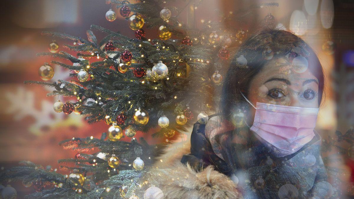 Weihnachten in Zeiten der Corona-Pandemie (Symbolfoto)