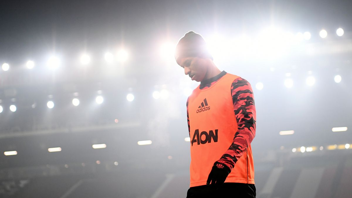 Fußballprofi Marcus Rashford von Manchester United