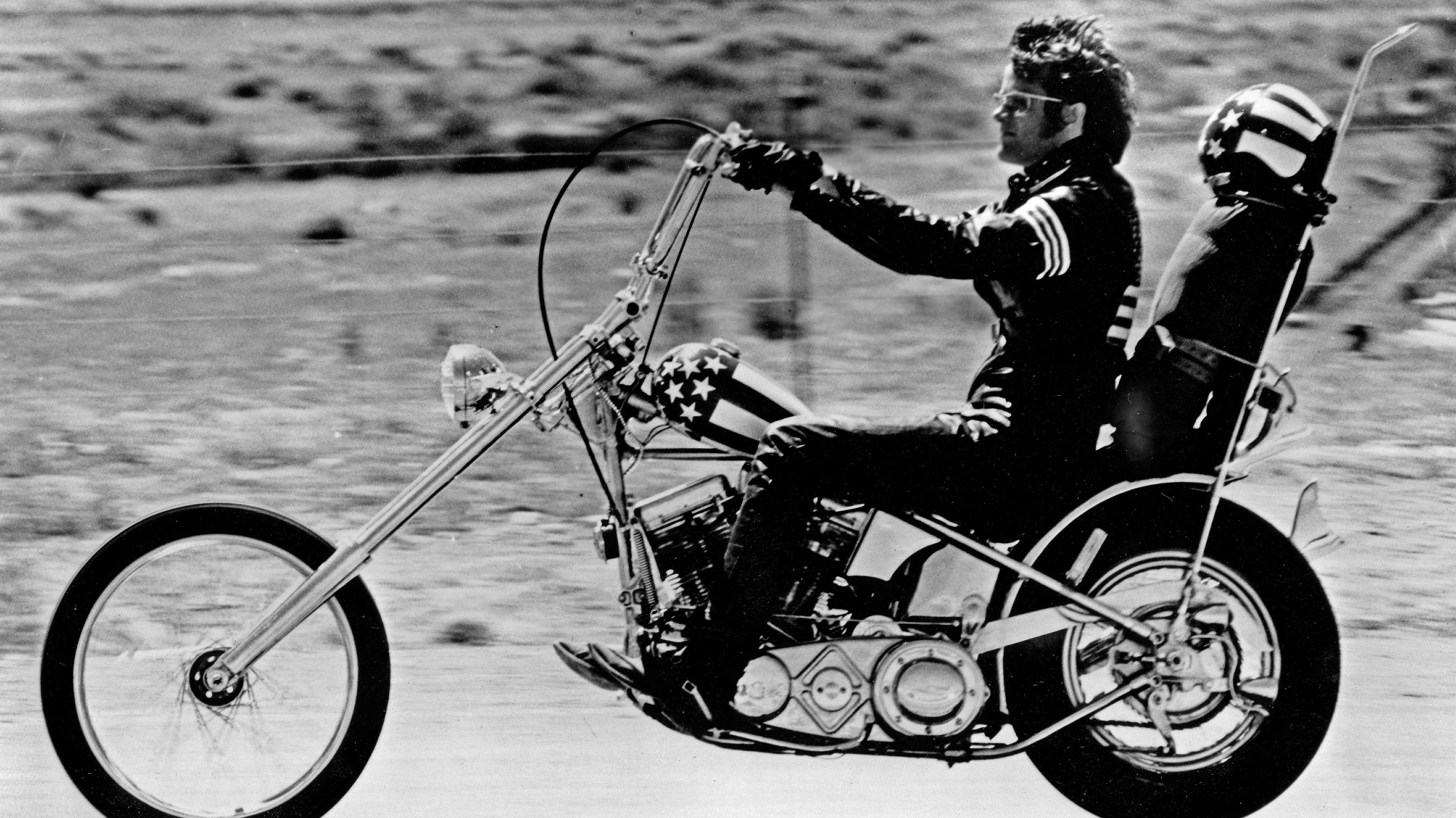 "Peter Fonda im Kultfilm ""Easy Rider"""