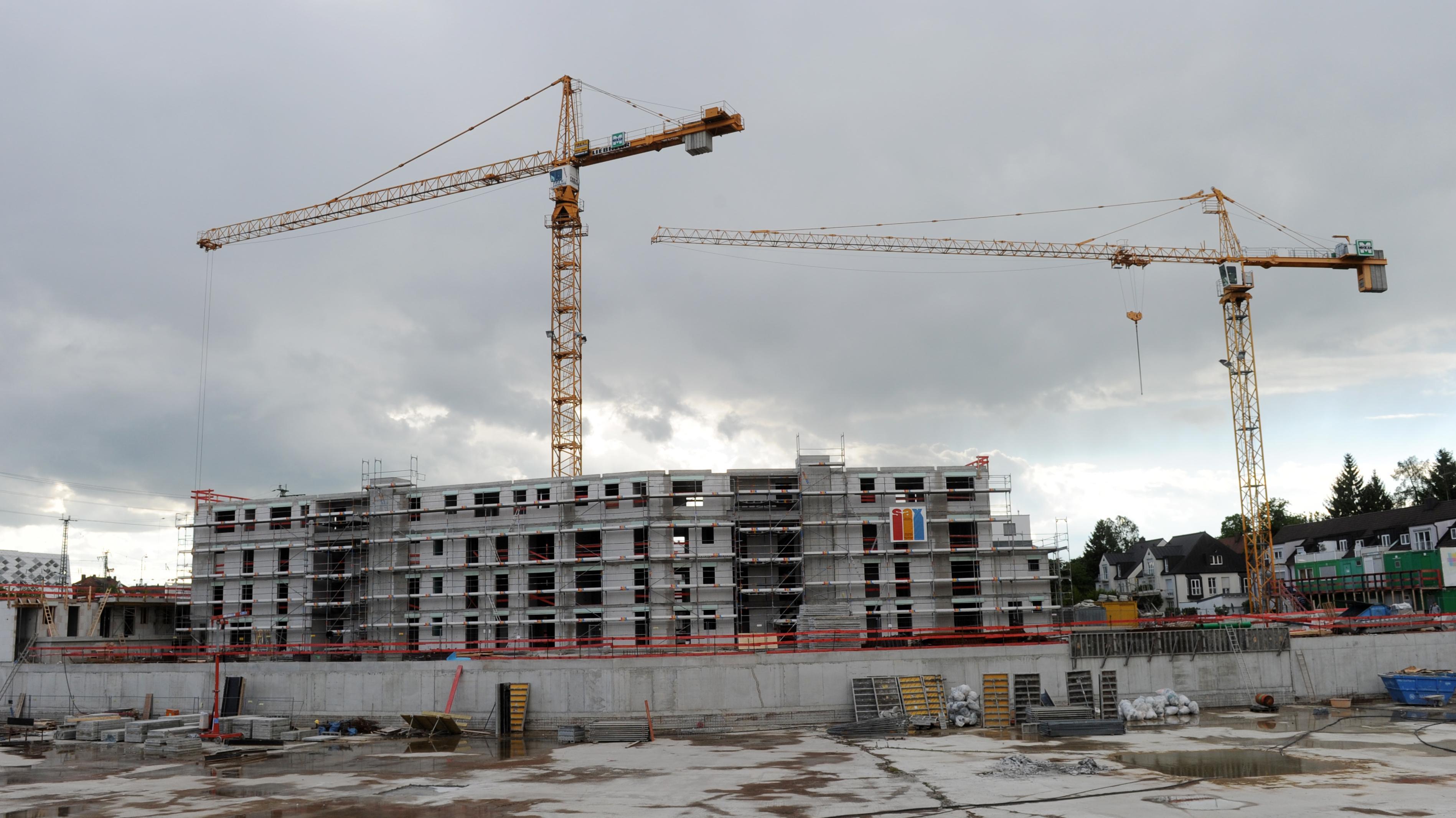 Neubau eines Mehrfamilienhauses in München