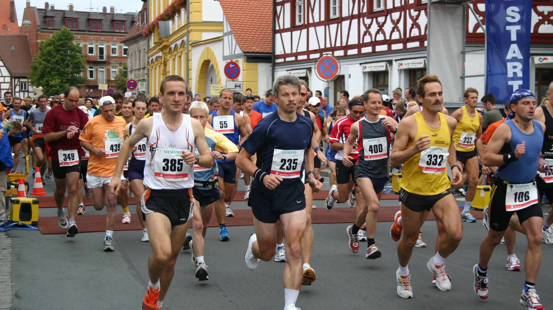 Fränkische-Schweiz-Marathon in Ebermannstadt