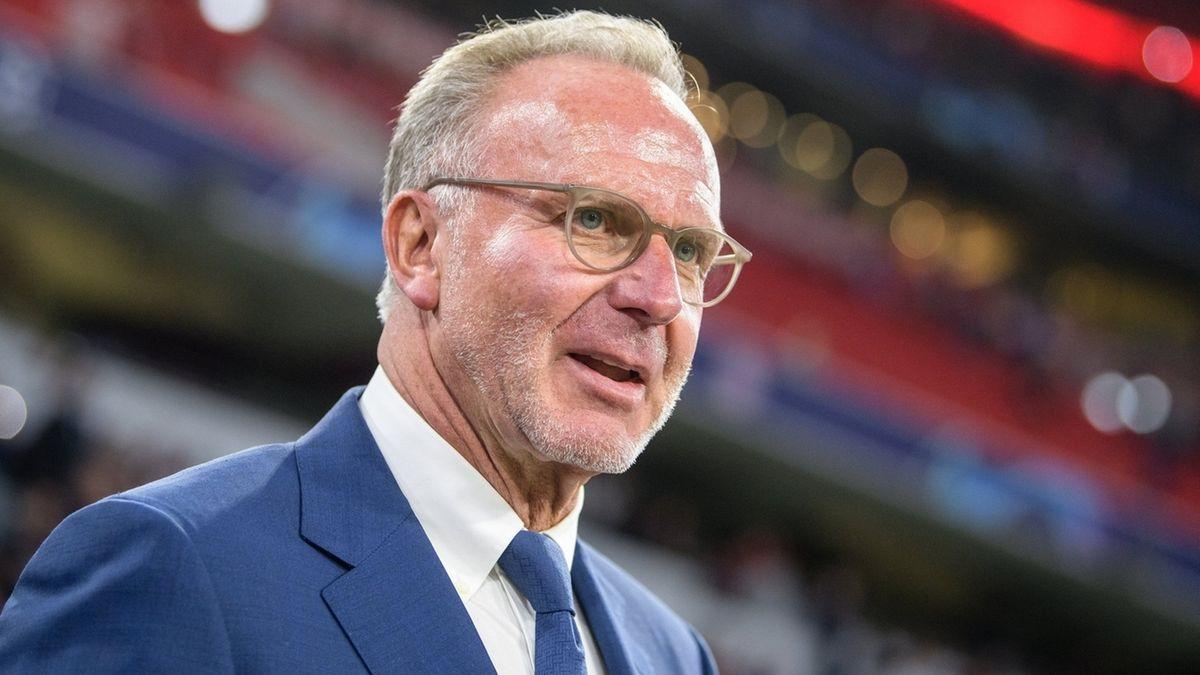 FC Bayern-Vorstandschef Karl-Heinz Rummenigge