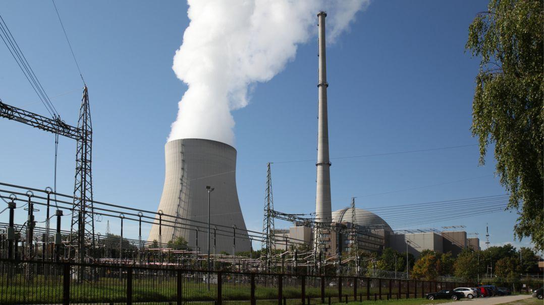 Kernkraftwerk Isar2/OHU in Niederbayern Essenbach