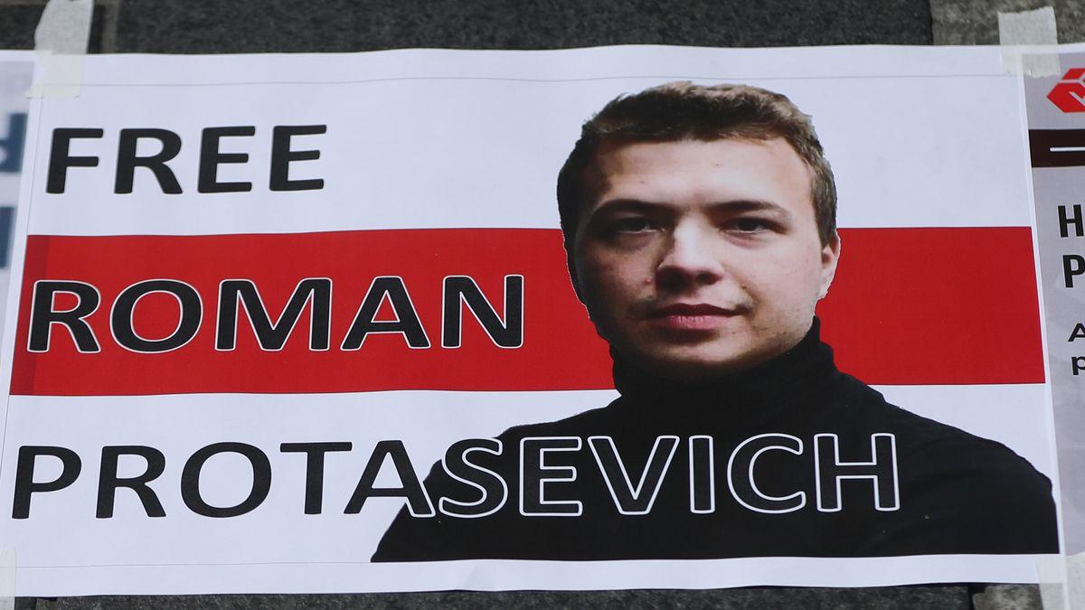 Transparent zur Befreiung von Roman Protasewitsch