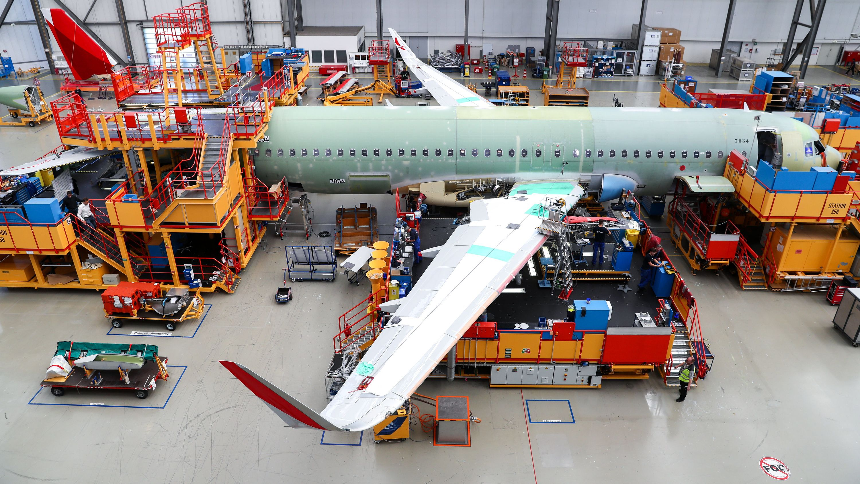Airbus-Produktion