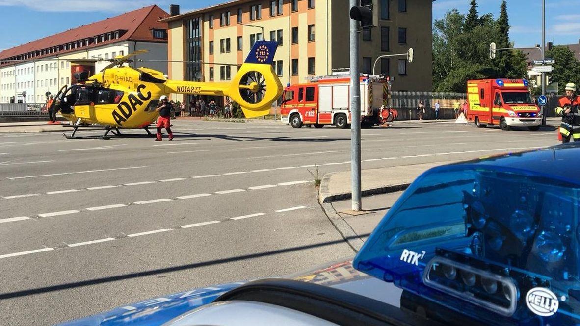 Tödlicher Motorradunfall in München-Obergiesing