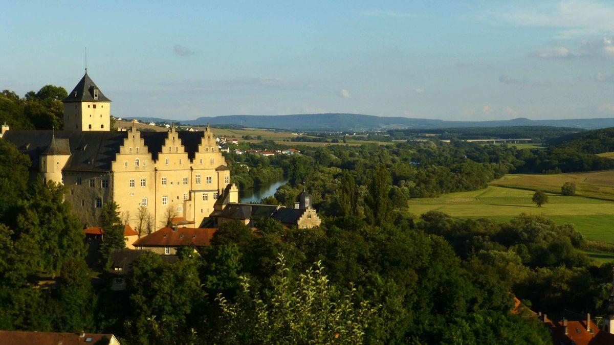 Schloss Mainberg im Landkreis Schweinfurt