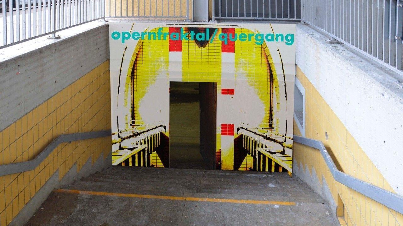 Aus der Bahnhofsunterführung wird ein Ort der Kunst.