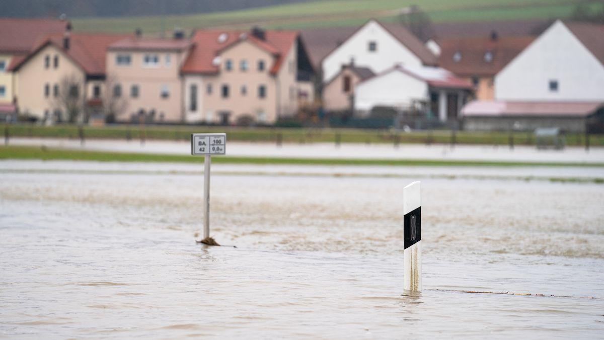 Hochwasser in Oberfranken Busendorf