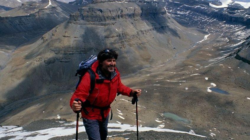 Bruno Baumann in Tibet