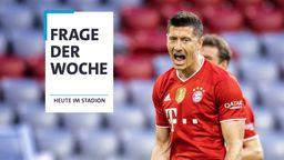 FC-Bayern-Stürmer Robert Lewandowski   Bild:picture-alliance/dpa